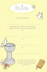 Baptism certificate child a5 yadclub Choice Image