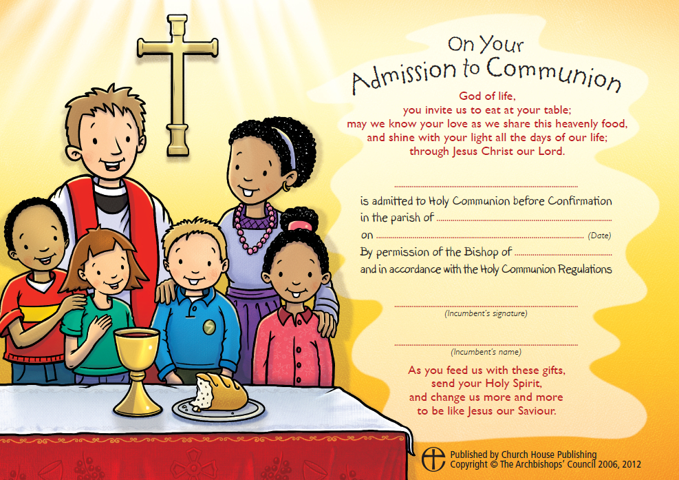 how to receive holy communion in the anglican church