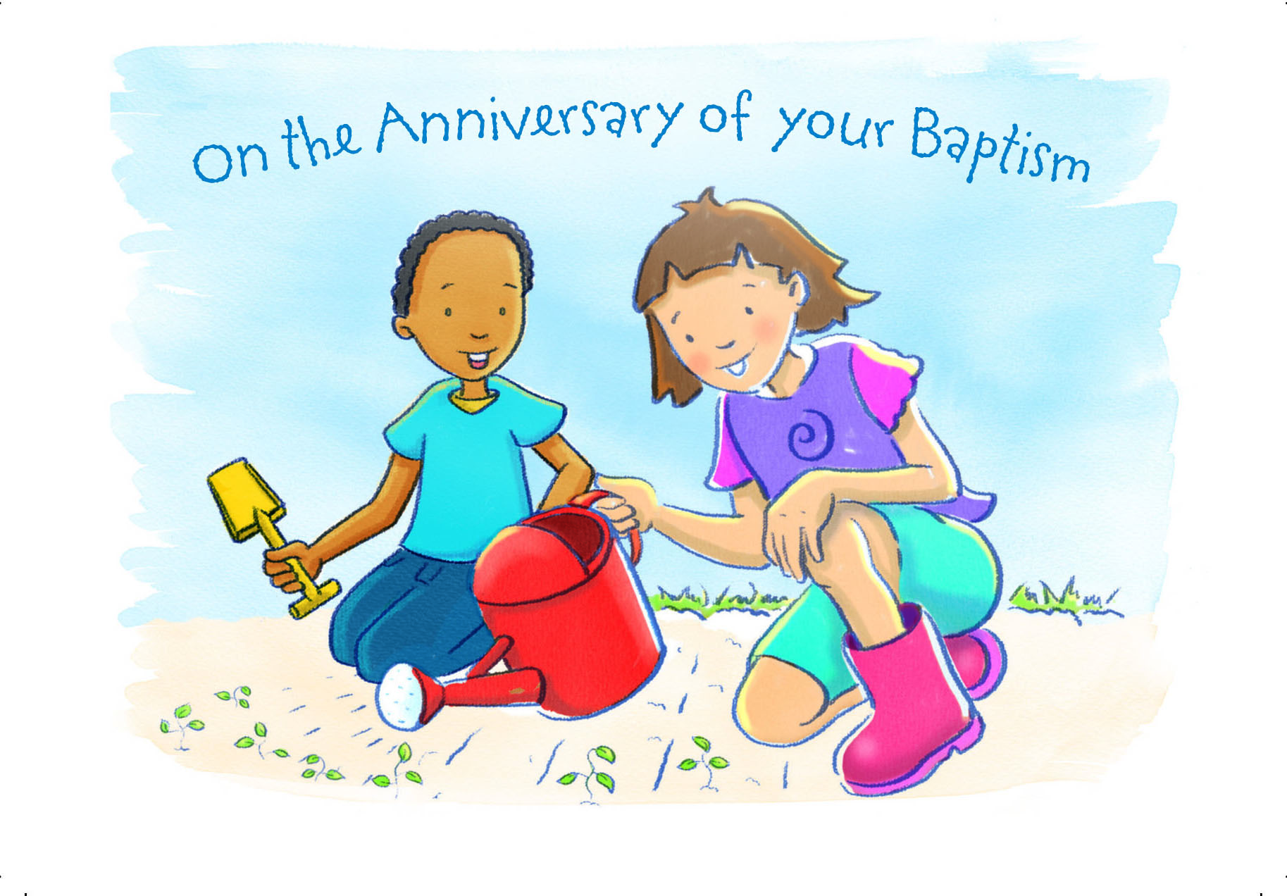 Baptism Anniversary Cards By Craig Cameron