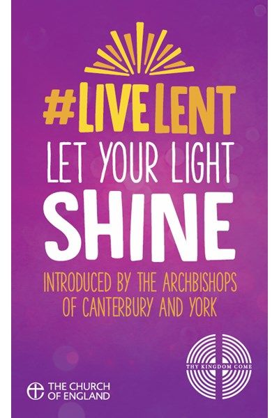 Live Lent: Let Your Light Shine (pack of 50)