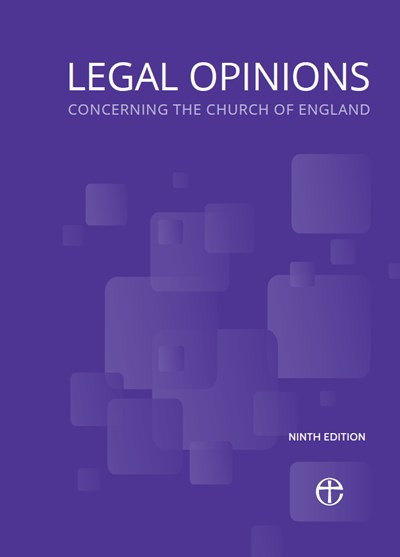 Legal Opinions Concerning the Church of England 9th edition