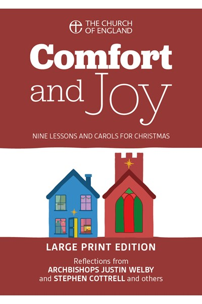 Comfort and Joy single copy large print