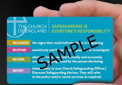 Safeguarding Contact Card (pack of 10)