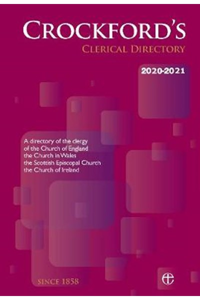Crockford's Clerical Directory 2020-21 (paperback edition)