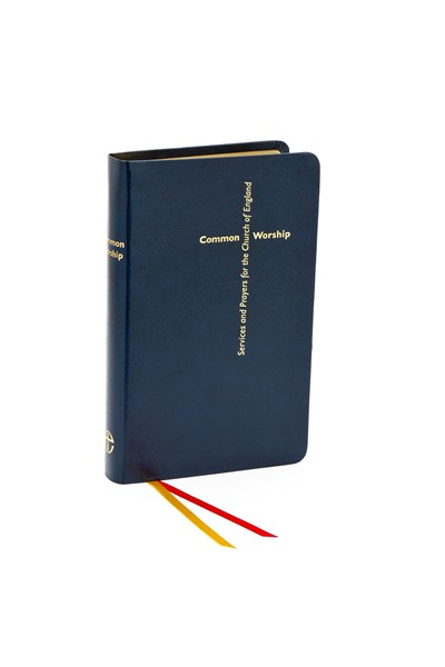 Common Worship: Main Volume Bonded Leather Blue