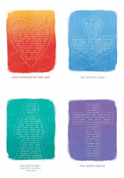 Words for Life cards (set of 4)