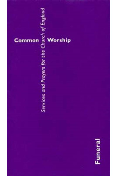 Common Worship: Funeral Booklet (Large format)