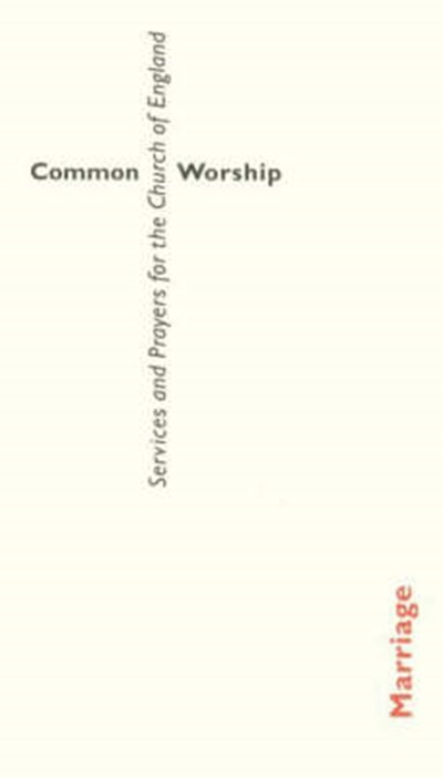 Common Worship: Marriage