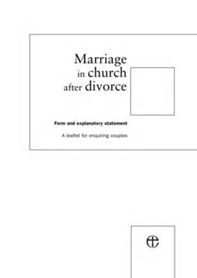 Marriage in Church after Divorce Form