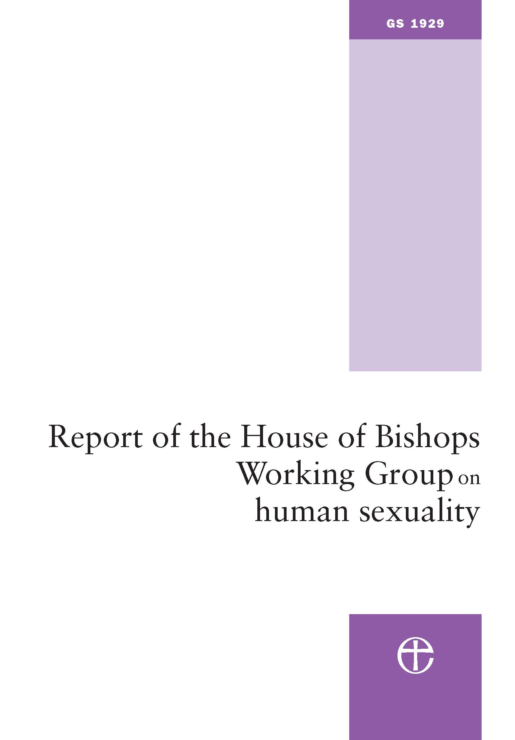 Report of the House of Bishops Working Group on Human Sexuality (The Pilling Report)