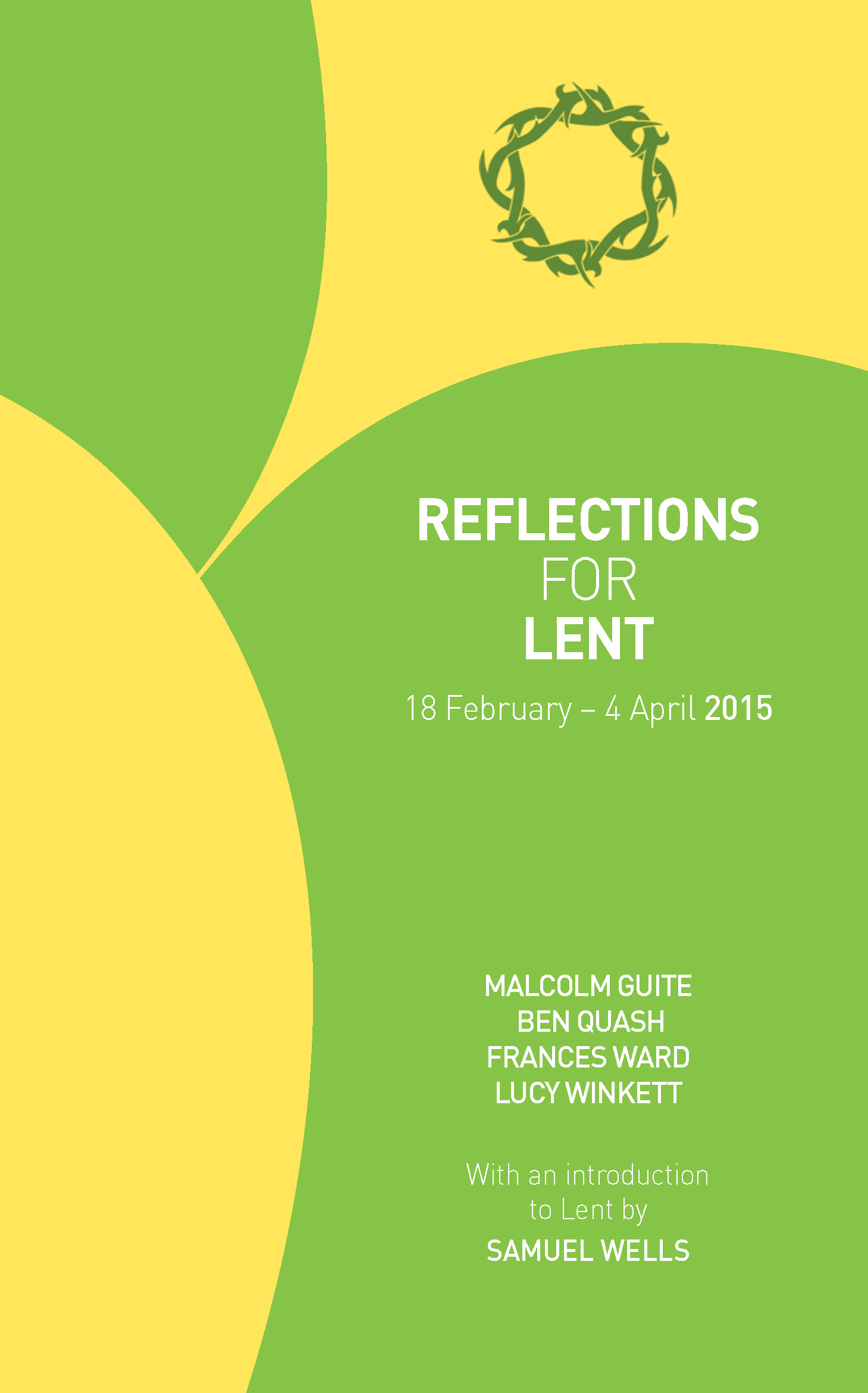 Reflections for Lent 2015 (Pack of 6)